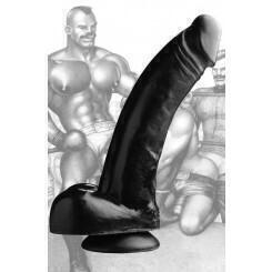 Фаллоимитатор Tom of Finland Black Magic, черный