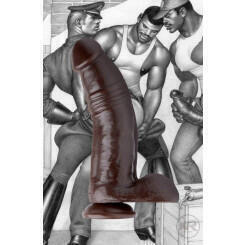 Фаллоимитатор Tom of Finland Break Time, коричневый