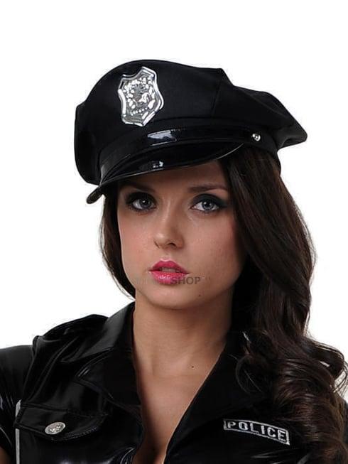 Фуражка Полицейского Le Frivole черная фото
