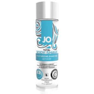 Гель для Бритья и Интимной Гигиены SYSTEM JO TOTAL Shaving Gel Unscented, 240 мл