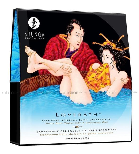 Гель-желе Shunga Lovebath Океанское Искушение 650 гр