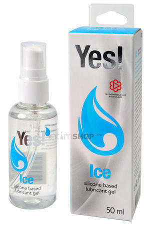 Охлаждающий силиконовый лубрикант Yes - Ice, 50 мл