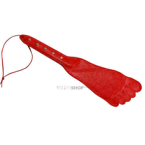 Хлопалка ступня красная