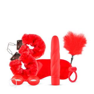 Набор секс-игрушек LoveBoxxx I Love Red Couples Box, красный