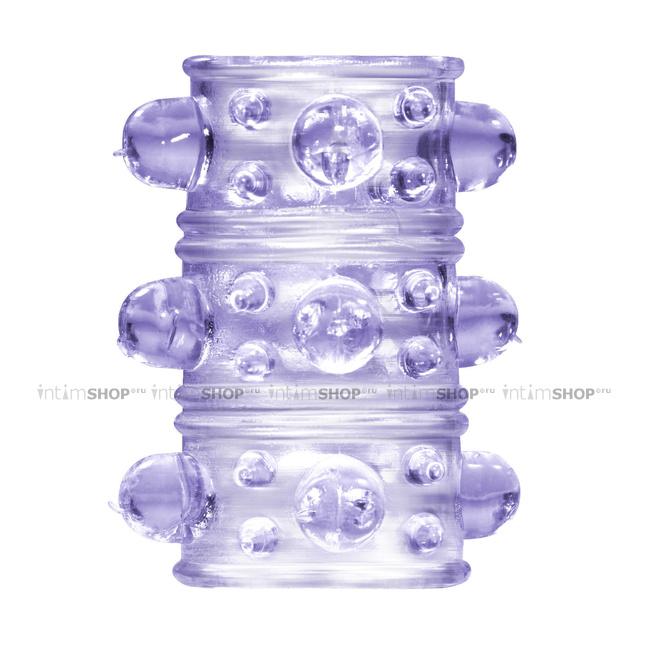 Насадка на пенис Lola Rings Armour, фиолетовый фото