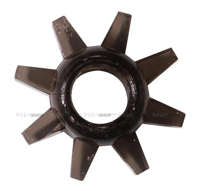 Эрекционное кольцо Rings Cogweel, чёрный