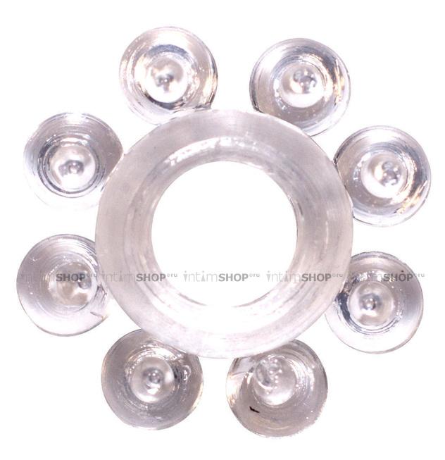 Эрекционное кольцо Rings Bubbles, бесцветное