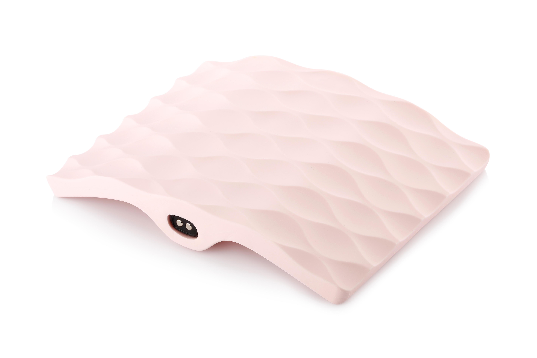 Мастурбатор ImToy Manta Ray hi tech из шелковистого силикона, розовый