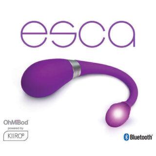 Интерактивный вибратор OhMiBod Esca2 for Kiiroo, фиолетовый