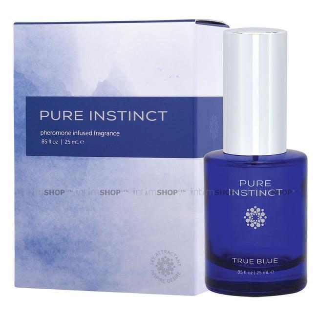 Цитрусовый аромат с феромонами Pure Instinct True Blue, 25 мл