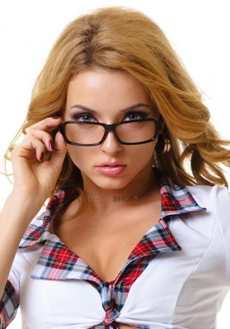 Элегантные игровые очки Accessories, пластик, без стекол