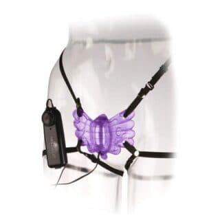 Клиторальный стимулятор-бабочка PipeDream Classix Butterfly Strap-On