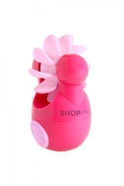 Клиторальный вибростимулятор Sqweel Go Pink, розовый