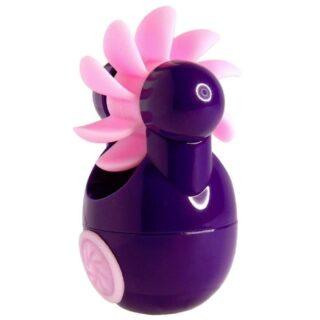Клиторальный вибростимулятор Sqweel Go Purple, фиолетовый