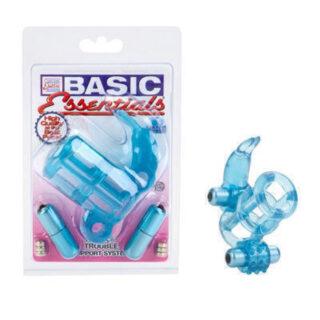 Кольцо Эрекционное Basic Essential голубой