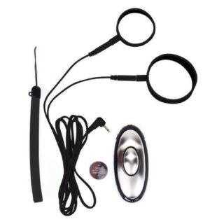 Кольцо на Пенис с Электростимуляцией Electro Cockring Set черный