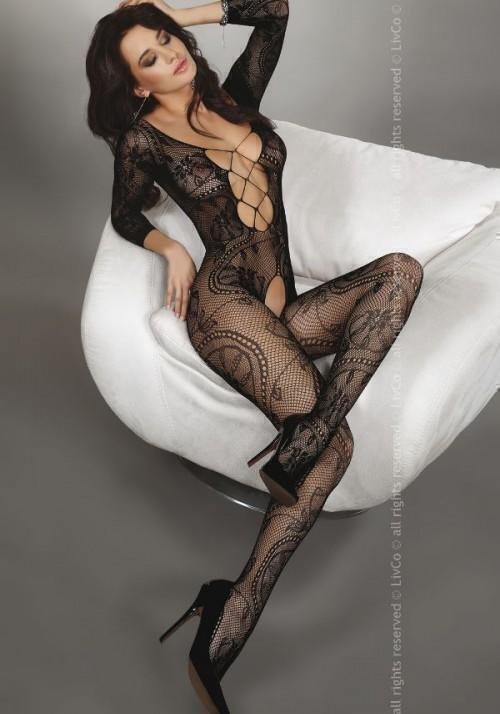 Комбинезон Livia Corsetti Zita Black, черный XL/XXL