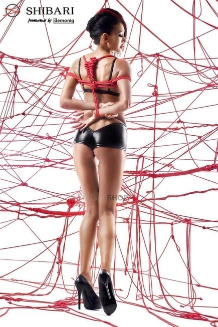 Комплект Demoniq Yuka с веревками для связывания, L