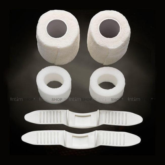 Дополнительные части для экстендера MaleEdge Basic Tuneup Kit, белый