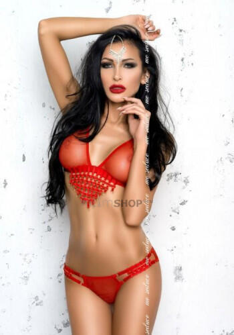 Комплект Me Seduce Tiffany Red, S/M