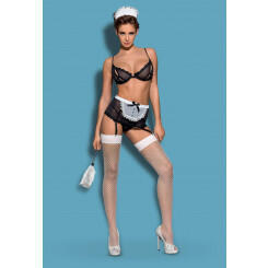 Комплект Obsessive Maidme set 5-pcs, S\M