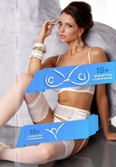 Комплект с Открытой Грудью Casmir Aurelia set cream, L/XL