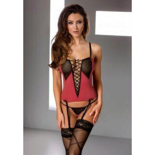 Корсаж Casmir Gill corset, красный S/M