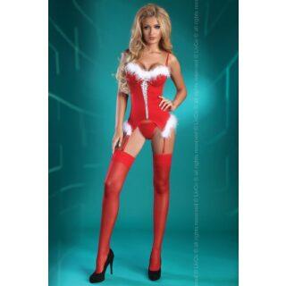 Корсет и трусики Livia Corsetti Christmas Angel, S\M