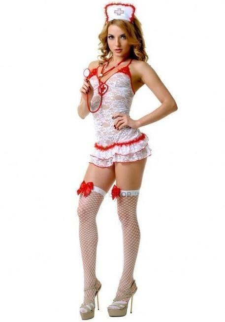 Костюм Le Frivole Медсестра кружевной, M/L