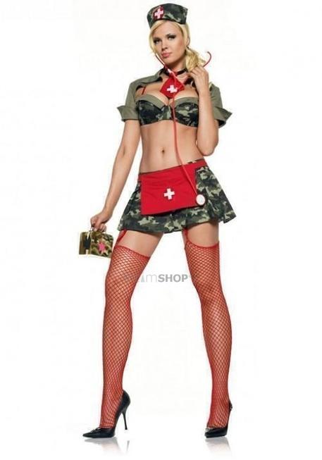 Костюм Le Frivole Медсестра в Армии, S/M