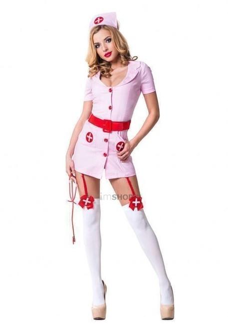 Костюм Le Frivole Похотливая медсестра,розовая S/M