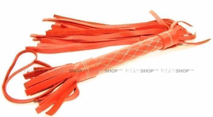 Красная кожаная плетка