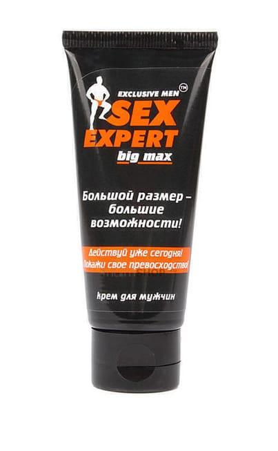 Крем для увеличения члена Big Max Sex Expert 50 г