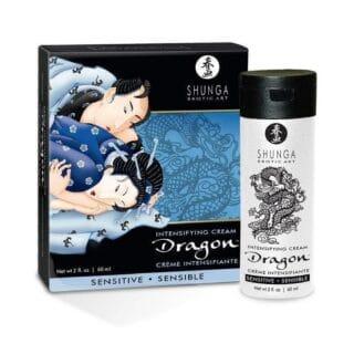 Крем для усиления эрекции Shunga Dragon Чувствительность, 60 мл