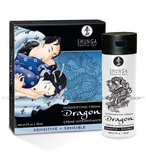 Крем для Мужчин Shunga Dragon Sensitive Cream,60 мл