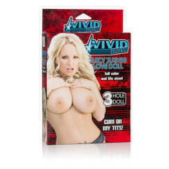 Кукла California Exotic Novelties Vivd Raw Juicy Juggs Love Doll, телесная