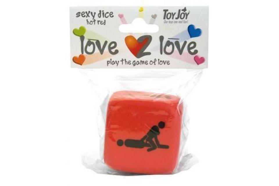 Игровые кости Love2Love Sexy Dice Red
