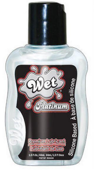 Гель-Лубрикант Wet Platinum, 44 мл (1.5 oz)