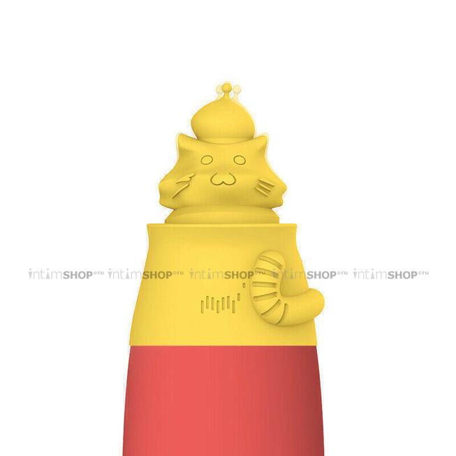 Насадка-Стимулятор Magic Motion Magic Cap, жёлтый
