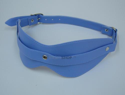 Виниловая маска Sitabella BDSM голубая OS