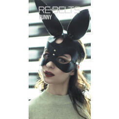 Маска Bunny Rebelts, черная