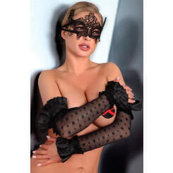 "Маска Livia Corsetti ""Mask Black Model 2"", черная"