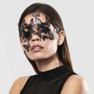 Виниловая маска Маскарадная Bijoux Indiscrets SYBILLE