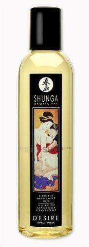 Массажное масло Shunga Страстная ваниль несъедобное 250 мл