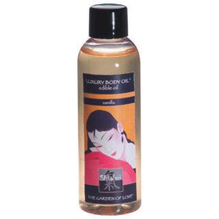 Масло для тела SHIATSU EDIBLE OIL VANILLA 100 ML ваниль