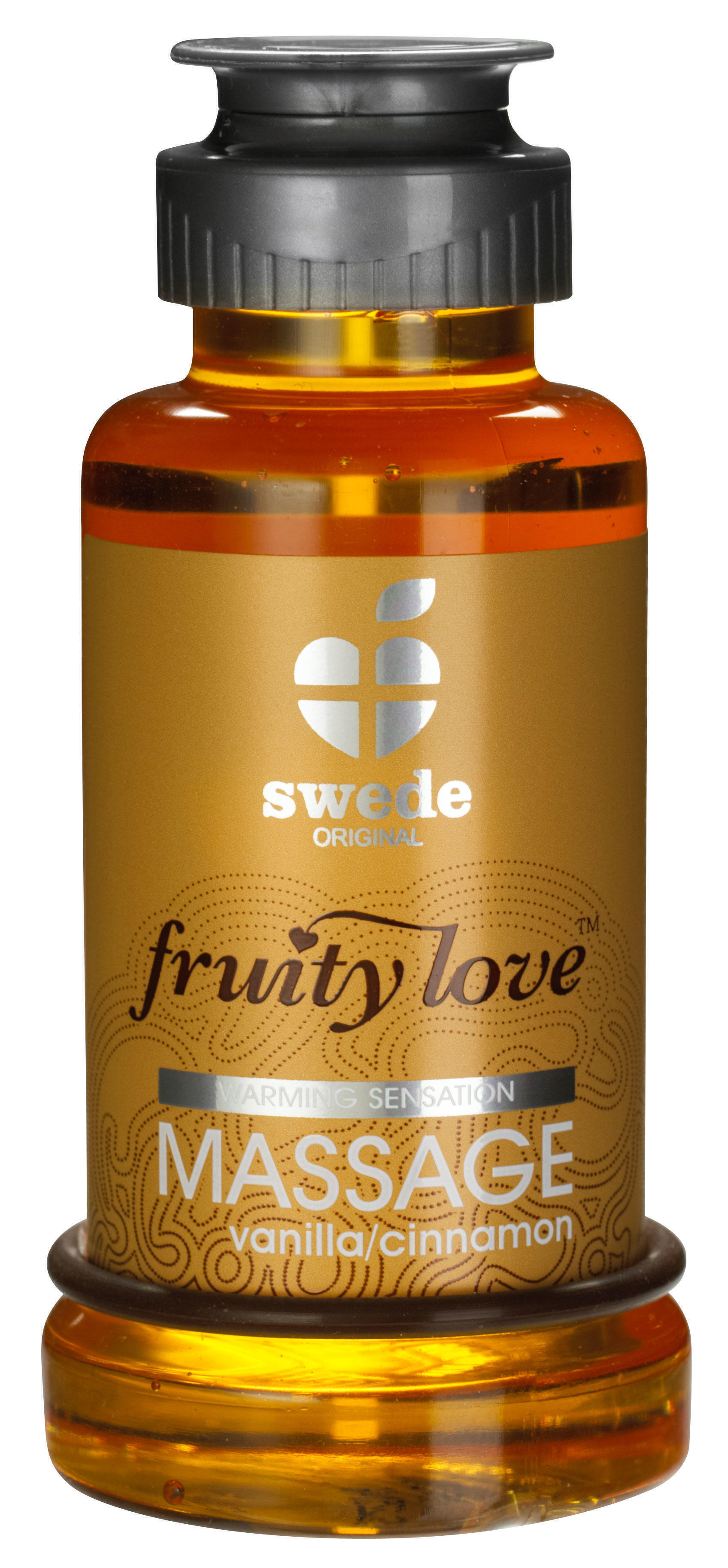 Лосьон для Массажа Swede Fruity Love Massage Vanilla/Cinnamon, 100 мл
