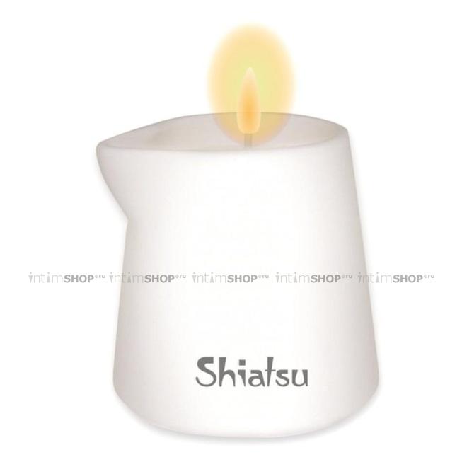 Массажная свеча Hot Shiatsu, малина и ванильный крем, 130 мл