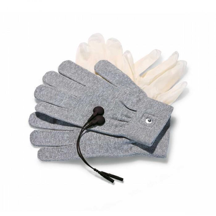 Перчатки с Миостимуляцией Mystim Magic Gloves серый