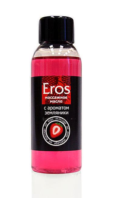 Массажное масло Bioritm Eros Fantasy Земляника, 50 мл фото