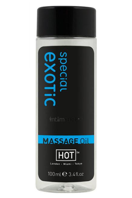 Массажное Масло Hot Massage Oil Экзотик, 100 мл